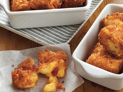 Macaroni-and-Pimiento Cheese Bites