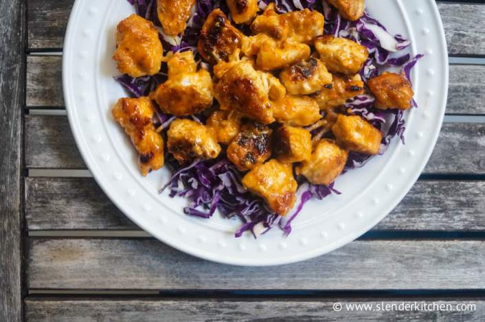 Bang Bang Chicken for dinner on Friday in the weekly meal plan,