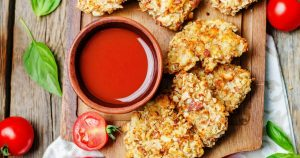 Almond Crusted Pork Tenders - Slender Kitchen