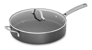 Calphalon Classic Nonstick Saute Pan with Cover, 5...