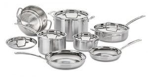 Cuisinart MCP-12N Multiclad Pro Stainless Steel 12...
