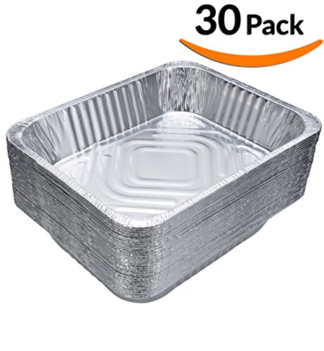 Dobi 30 Pack Chafing Pans Disposable Aluminum