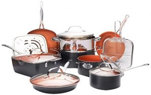 Gotham Steel Ultimate 15 Piece All in One Chef's K...