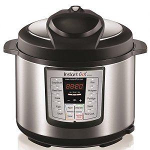 Instant Pot LUX60 V3 6 Qt 6-in-1 Muti-Use Programm...