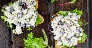 Cranberry Tuna Salad - Slender Kitchen