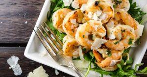 Garlic Parmesan Shrimp - Slender Kitchen
