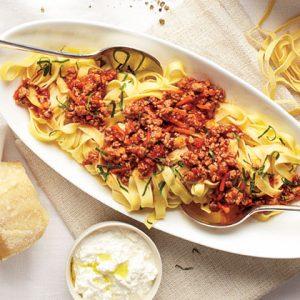 Pasta Pork Bolognese Recipe | MyRecipes