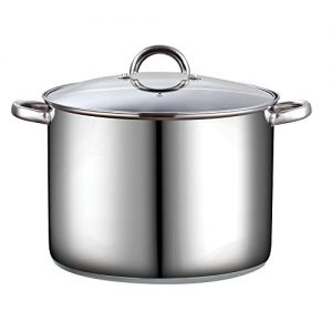 Cook N Home 16 Quart Stockpot with Lid, Stainless ...