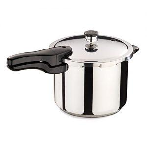 Presto 01362 6-Quart Stainless Steel Pressure Cook...
