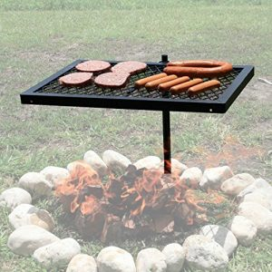 Texsport Heavy Duty Barbecue Swivel Grill for Outd...